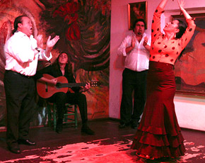 tablao - The tablao Flamenco Sevilla